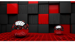 silver-abstract-balls-spheres-red-hd-background